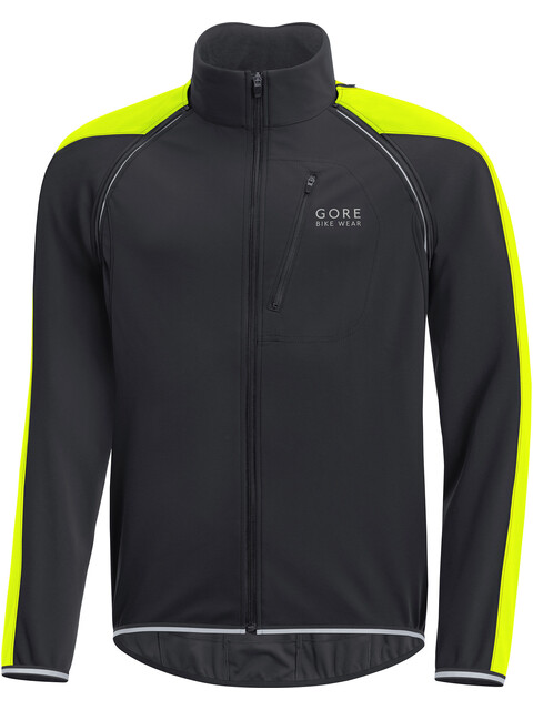 GORE BIKE WEAR Phantom Plus GWS Zip-Off Jacket Men black/neon yellow